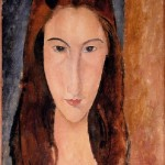 1919 Portrait of Jeanne Hébuterne