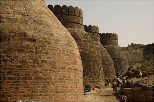 Six forts of Rajasthan, including Kumbhalgarh – recognized as examples of Rajput military hill architecture