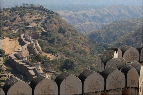 Picturesque view of Kumbhalgarh