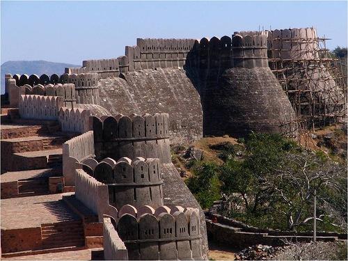 The Great Wall of India Kumbhalgarh