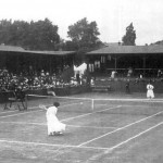 Final of the women's tennis tournament