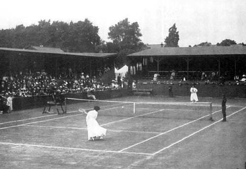 Final of the women's tennis tournament