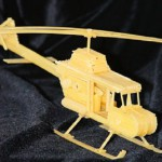 Wonderful Macaroni sculpture Helicopter, created by Russian designer Sergei Pakhomov