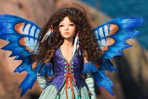 dolls by Martha Boers