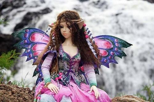 Carnella. Dolls by Canadian artist and costume designer Martha Boers