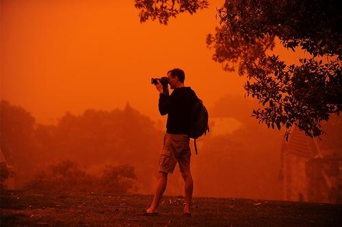 Martian landscape in Australia