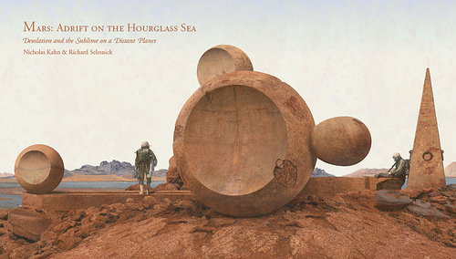 Mars – photo and sculptural installation by Richard Selesnick and Nicholas Kahn