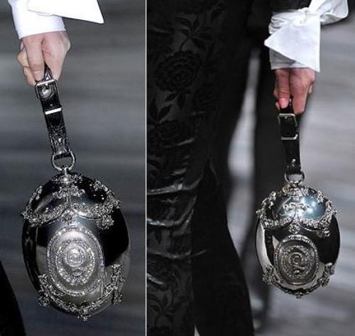 Metal Empire Swarovski crystal Purse