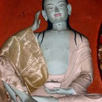 Milarepa statue