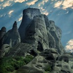 Monasteries of the Holy Meteora in Greece