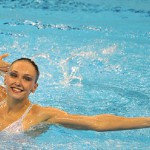 Russian synchronized swimmers rule the pool