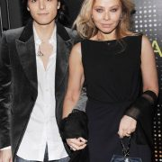 Muti and her younger son Andrea