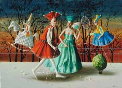 Fantasy Painting by Armenian artist Vahram Davtian
