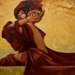 Wind. Carnival in Venice paintings by Vladimir Ryabchikov