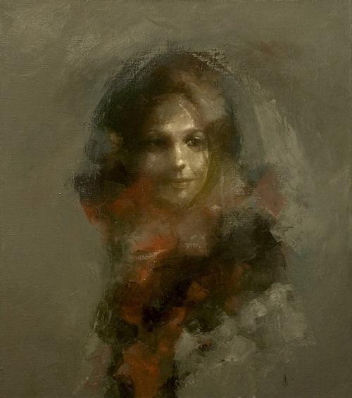 Unknown lady portrait
