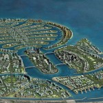 In fact, Palm Deira is the biggest artificial island of the three. Its construction began in November 2004