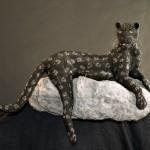 Life-size Swarovski Crystal Panther