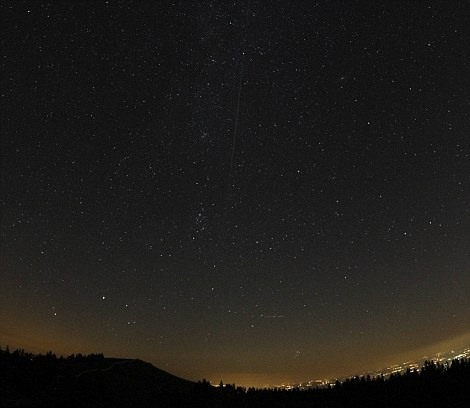 Known as Perseid, meteor shower