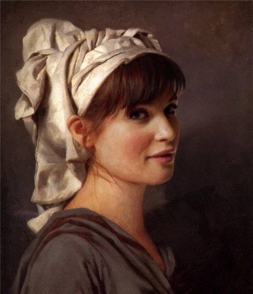 Portrait of Gemma Arterton