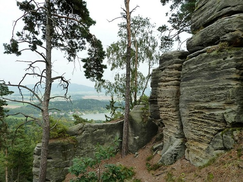 Natural Reservation in Czech Republic, known as Prachov Rocks