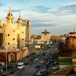 Architecture of Puppet Theatre in Kazan, Russia
