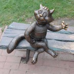 Cat monument. Ramenskoye