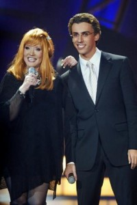 Recent years, comedian Maksim Galkin has been her partner. The two often perform together in large celebrity-studded events, such as New Year's Day shows, and have even had a few musical collaborations.