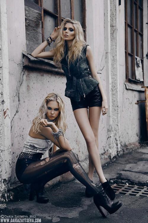 2012 fashion photo. Photoart by Moscow based professional fashion photographer Daria Zaitseva