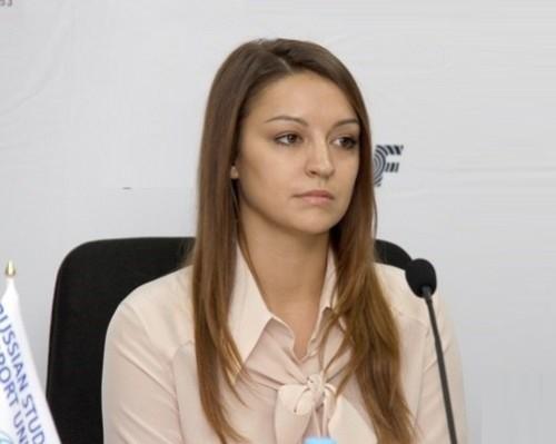 Russian rhythmic gymnast Evgeniya Kanayeva