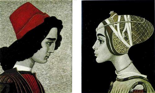 Shakespeare graphics by Savva Brodsky