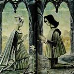 Beautiful graphics by Soviet artist Savva Brodsky. Romeo and Juliet