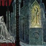 Juliet. Illustration by Soviet artist Savva Brodsky