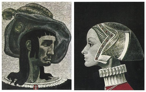 Work by Soviet book illustrator Savva Brodsky