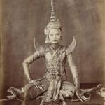 Siamese dancers modern and vintage