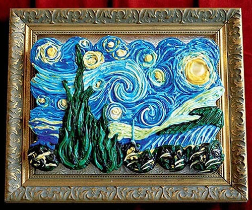 Starry Night by Vincent Van Gogh from the cakes