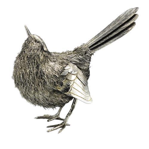 Sterling Silver Bird Sculpture, Buccellati