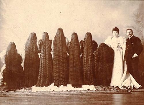 Sutherland Sisters longest hair