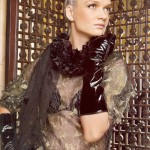 Glamorous and beautiful Russian gymnast and seven-time Olympic medalist Svetlana Khorkina