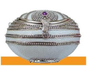 Swarovski White Elegance Handbag