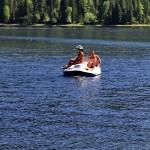 Rest on the Teletskoye (Golden Lake)