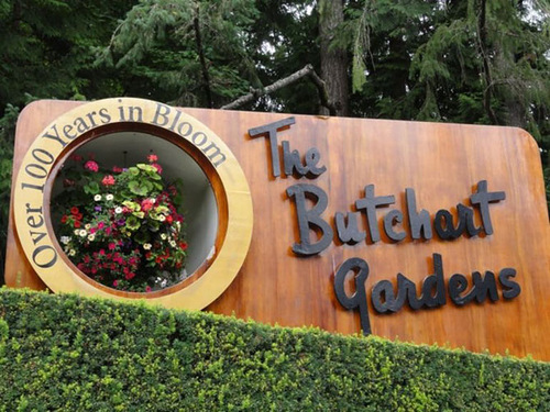The Butchart Flower Gardens in Canada