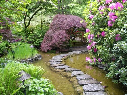Amazing landscape design in The Butchart Gardens