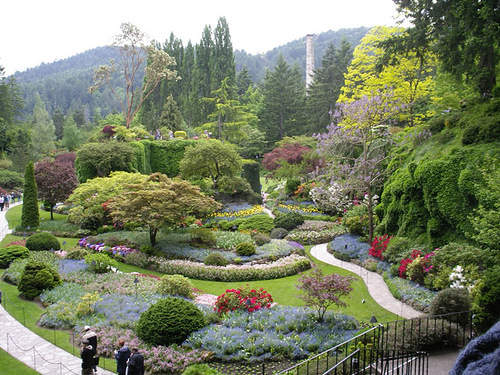 One of the most beautiful gardens in the world, The Butchart