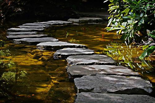 Neat rock path