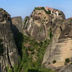 The Great Meteoron (a.k.a. Monastery of the Transfiguration of Christ) is the highest, largest and oldest of the six monasteries of the Meteora.