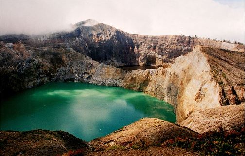 Kelimutu crater lake, Flores Island, Indonesia