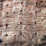 The Maijishan Grottoes. Gansu Province, China