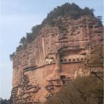 Chinese wonder – The Maijishan Grottoes. Gansu Province