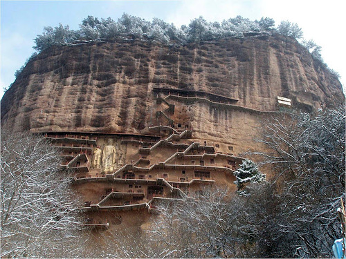 Maijishan Grottoes masterpiece
