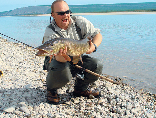 The Olenyok is known for its abundant fish.